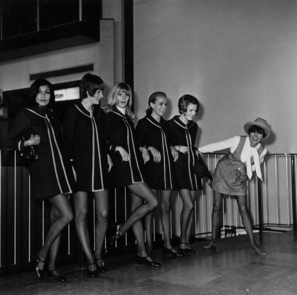 Mary Quant and models by George Stroud, 1968