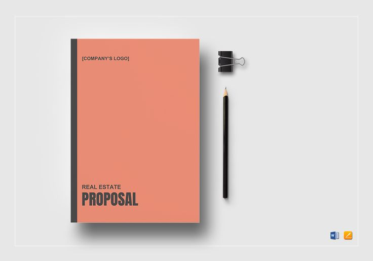 Best Proposal Document Design Images On