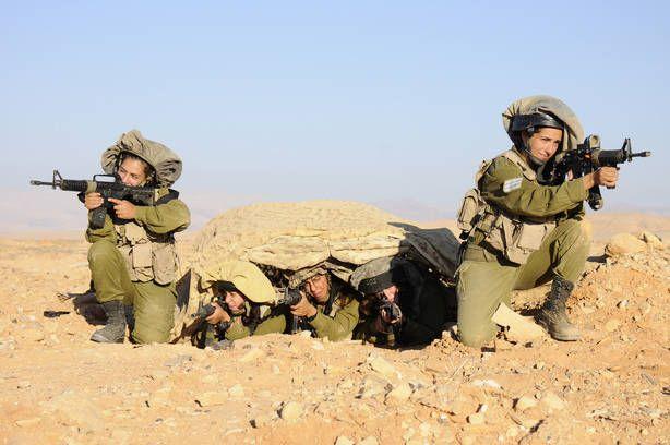 El 33 por ciento de los militares son mujeres. (Foto: Fuerzas de Defensa de Israel)