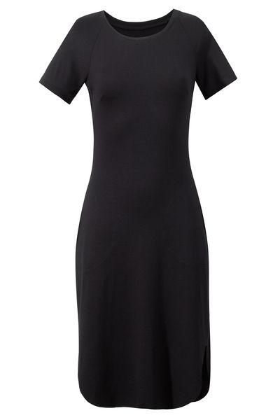 TISZERTÓWKA black #riskmadeinwarsaw #black #dress #tshirt #perfect #fit #spring #fashion #look