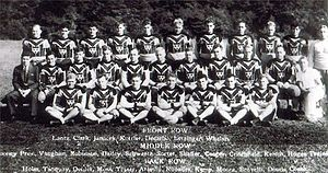 History of the Pittsburgh Steelers -1933 Roster