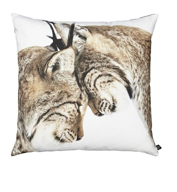 Cool New Playing Lynx cushions from By Nord, these are Puurfect for cuddling up too!