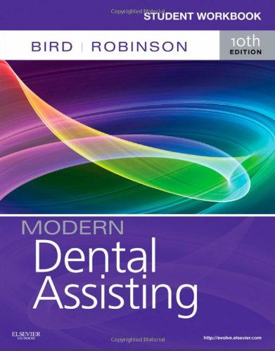 Student Workbook for Modern Dental Assisting, 10e -                     Price: $  11.84             View Available Formats (Prices May Vary)        Buy It Now      Easy to understand and simple to use, Student Workbook for Modern Dental Assisting, 10th Edition, provides the best review and practice available in workbook form for mastering...