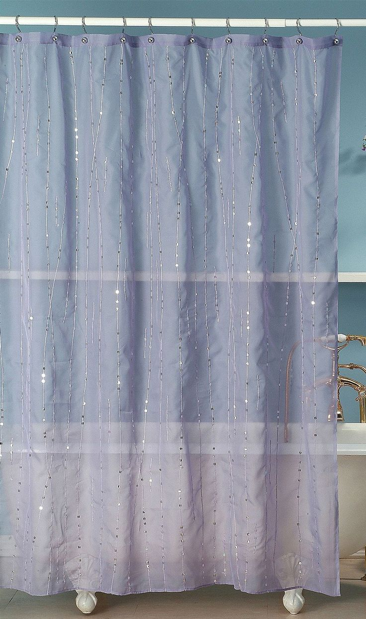 glitter square shower curtain purple since nick seems dead set on a purple bathroom