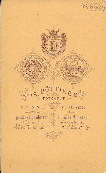 Josef Böttinger, Plzeň