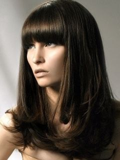 pictures of haircuts for 17 best images about on wispy bangs 4639