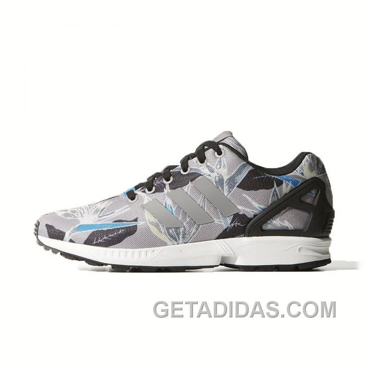 Discover the Online Adidas Zx Flux Men Flora Grey Blue collection at  Footseek. Shop Online Adidas Zx Flux Men Flora Grey Blue black, grey, blue  and more.