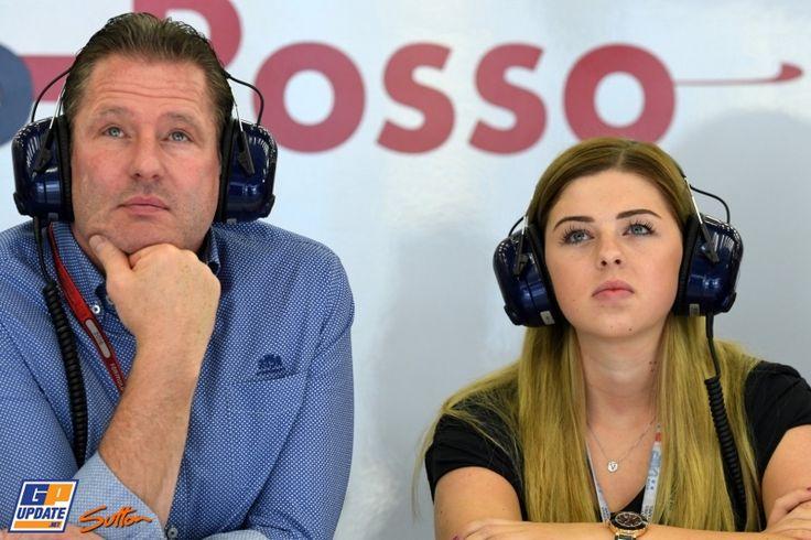♥ Jos en Victoria Verstappen, Formule 1 Grand Prix van Bahrein 2016