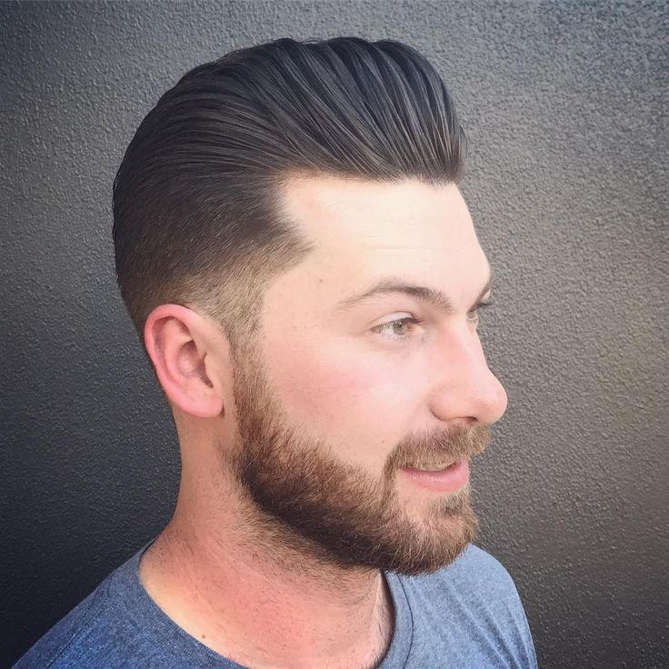 Frisuren Pompadour und Haarschnitte für 2018 – Viral Pomp Hair Ideas 2019   – Coiffures 2019