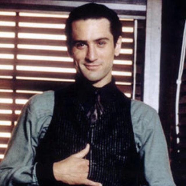 "Robert de Niro in ""The Godfather II"" one of the greatest ..."