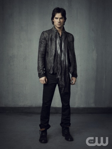 The Vampire Diaries -- Pictured: Ian Somerhalder as Damon -- Image Number: VD4_Damon_Grey_3772r.jpg -- Photo: Justin Stephens/The CW -- © 2013 The CW Network, LLC. All rights reserved.