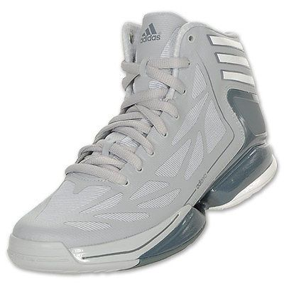 grey adidas basketball shoes