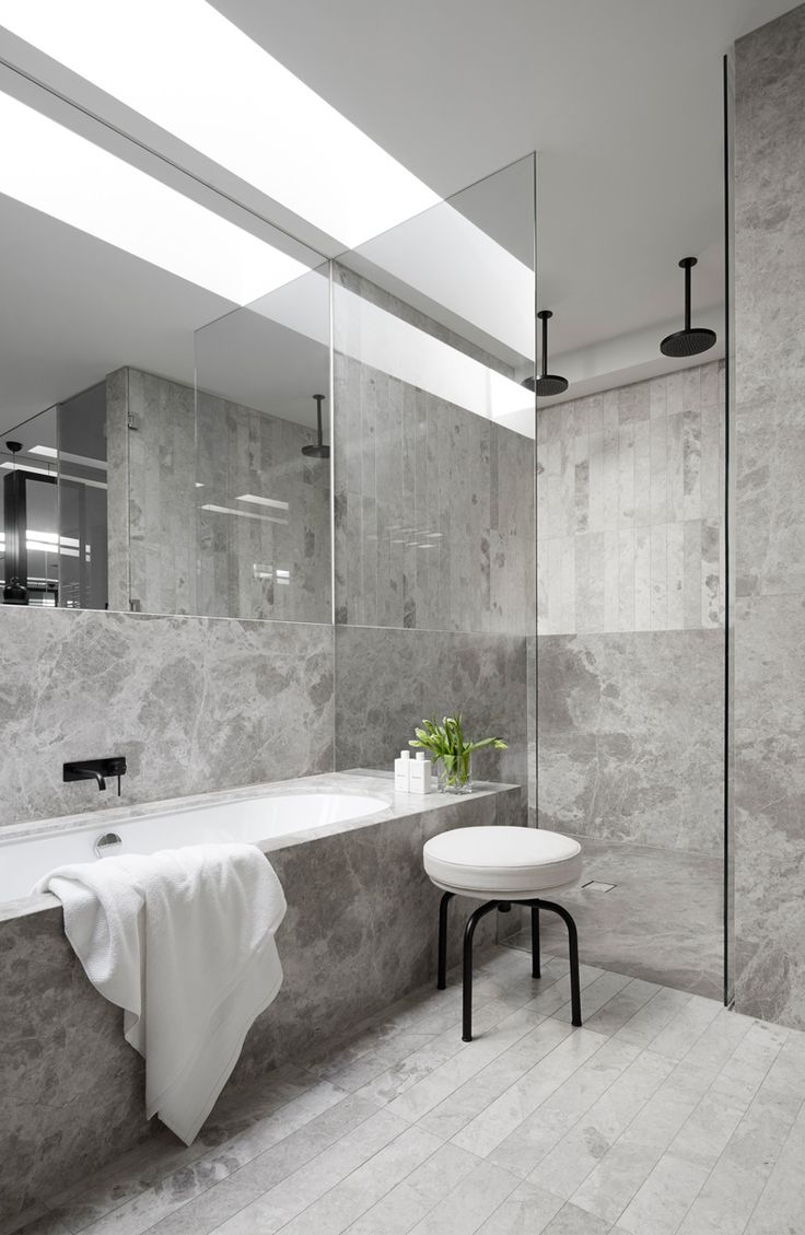 the 25 best grey marble bathroom ideas on pinterest grey shower bathroom mah residence by mim design