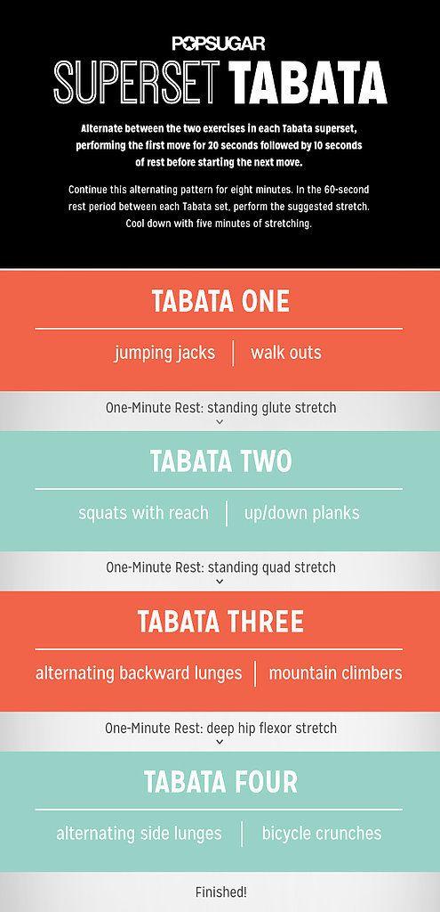 Love Tabata workouts!