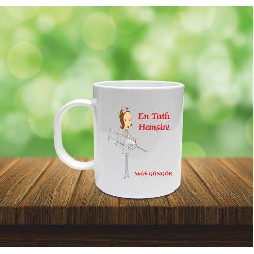 Tatlı Hemşire Temalı - Kişiye Özel Baskılı Kupa Bardak 15,00 TL ile n11.com'da! Kupa fiyatı ve özellikleri, Mutfak Gereçleri kategorisinde.