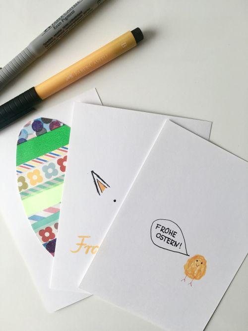 Wie ihr in Nullkommanichts schöne, einfache, minimalistische und kinderleichte süße Karten erstellen könnt.