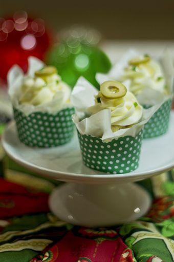 Cupcake salgado!