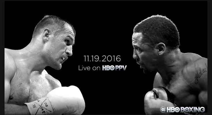 HBO PPV • Live Tonight • Sergey Kovalev vs. Andre Ward  http://www.hbo.com/boxing/fights/2016/11-19-sergey-kovalev-vs-andre-ward