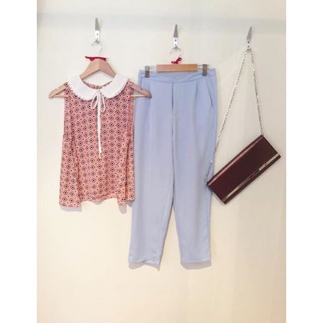 Todays M&M Piece of the day are our fab light blue trousers! HALF PRICE today only at £13!!! You'd be mad to miss out on this transitional wardrobe staple!! Shop online at www.maryandmilly.co.uk or through Facebook for FREE UK DELIVERY! Visit the boutique at 21 Guildhall Street, Preston City Centre!!