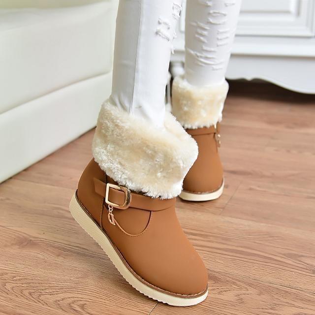 Vendas direto da fábrica hot moda botas de inverno das mulheres à prova d ' água botas de alta qualidade botas de neve super sapatos botas de couro quentes em Botas de Sapatos no AliExpress.com   Alibaba Group