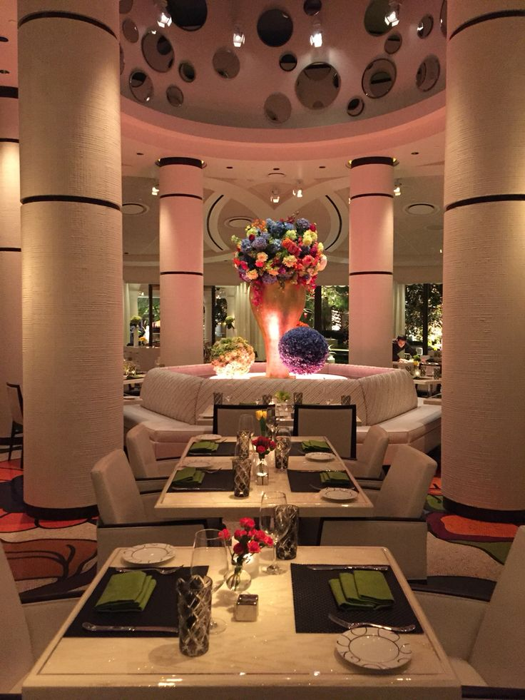 Beautiful Jardin Restaurant At The Encore Las Vegas Photo By Wendy Tomoyasu Hotel LobbyCommercial DesignLas