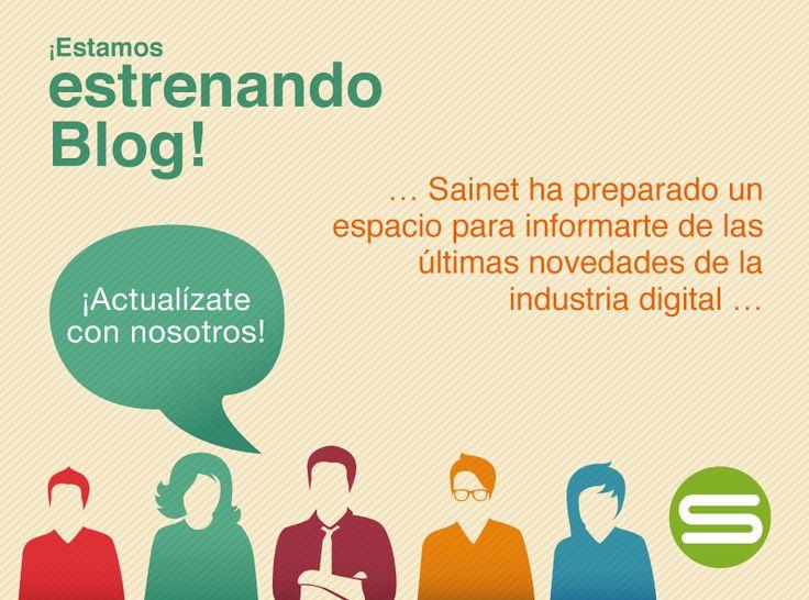 ¡ Entérate de información novedosa sobre todo el mundo digital en nuestro nuevo #Blog !