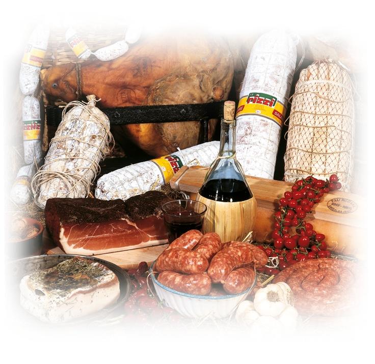 Salame, lardo, pancetta, salamella, salsiccia - F.lli Rizzi