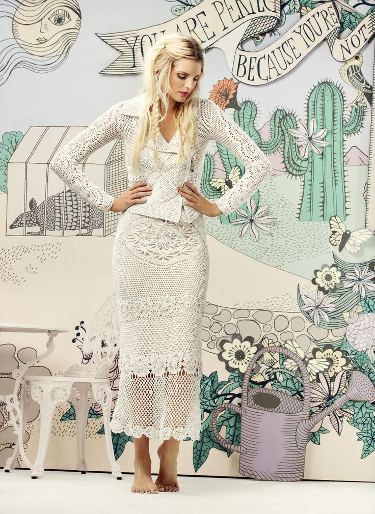 Odd Molly SS13 Campaign - Crochet