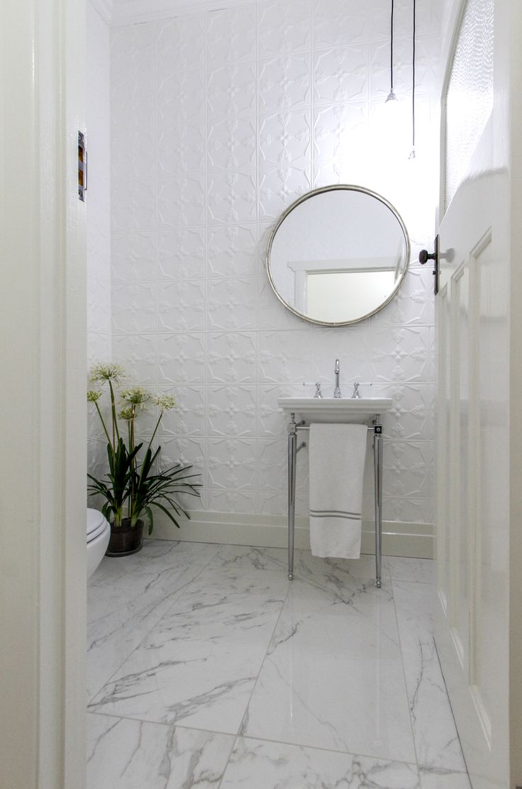 White renovated bathroom | Canterbury Warrington Basin tap wear Astrawalker