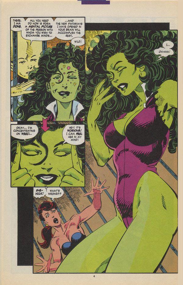 Byrne Robotics: JBF Reading Club : The sensational She-Hulk # 46