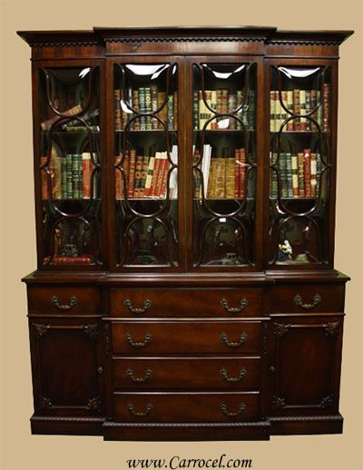 antique china hutch for sale | 2991 Antique Mahogany Breakfront Bubble  Glass China Cabinet - 40 Best China Cabinets Images On Pinterest China Cabinets And Cl