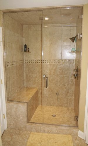 1000 ideas about master bath shower on pinterest master for Stand up shower ideas