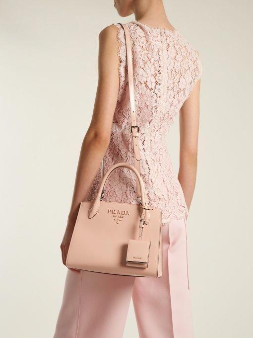 3357eb429f7e Prada Monochrome small leather bag #Pradahandbags | Prada handbags ...