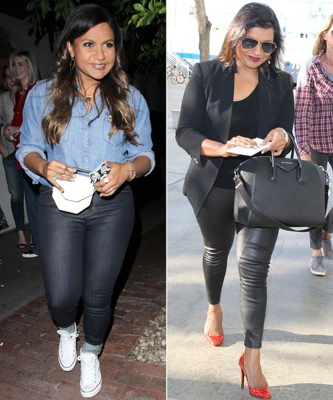 See how to recreate Mindy Kaling's style.