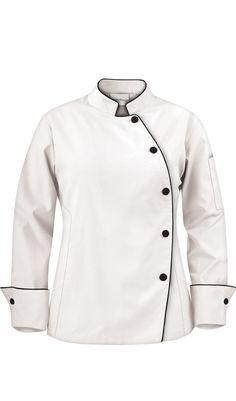 women's chef jacket+wrap - Google Search