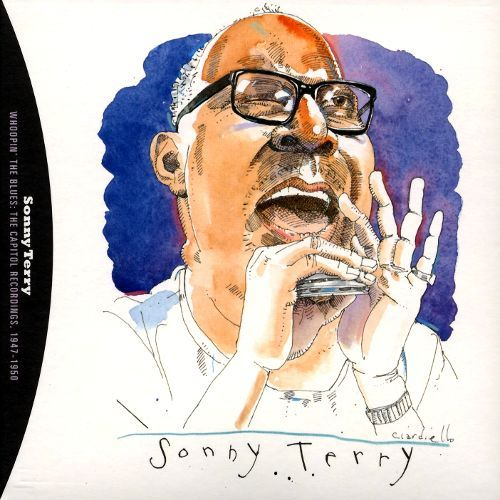 Sonny Terry by Joe Ciardiello Capitol Blues Collection (1995)