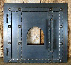 Teton Iron Pizza Oven Door MD 209