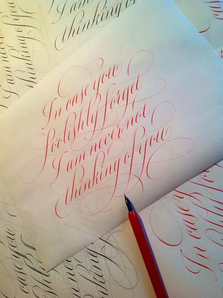 1000 Images About Copperplate Styl On Pinterest Fonts Modern Calligraphy And Calligraphy Kit