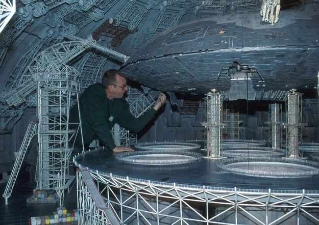 Spaceship - Lost In Space. Famous Miniature Movie Sets That Will Blow Your Mind