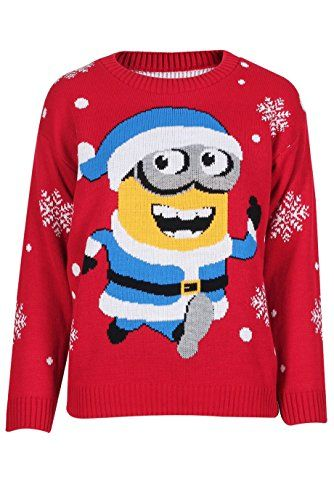 Adults Ladies Mens Running Banana Knitted Christmas Jumper Size SmallXL ML USA 1012 Red -- Find out more about the great product at the image link.