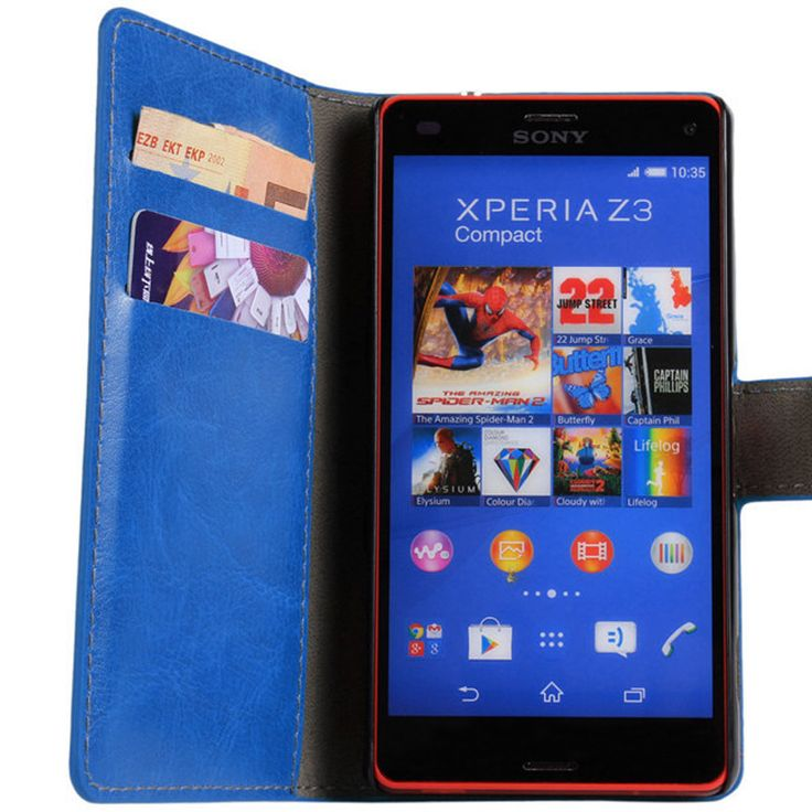 New Case - Blue Luxury Leather Wallet Stand Case for Sony Xperia Z3 Compact, $15.95 (http://www.newcase.com.au/blue-luxury-leather-wallet-stand-case-for-sony-xperia-z3-compact/)