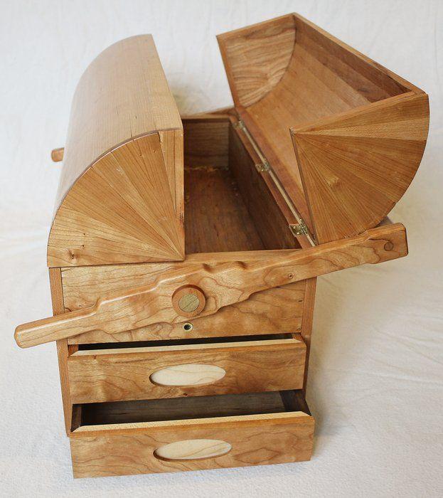 Coopered Lid Tool Box - by GBS @ LumberJocks.com ~ woodworking ...