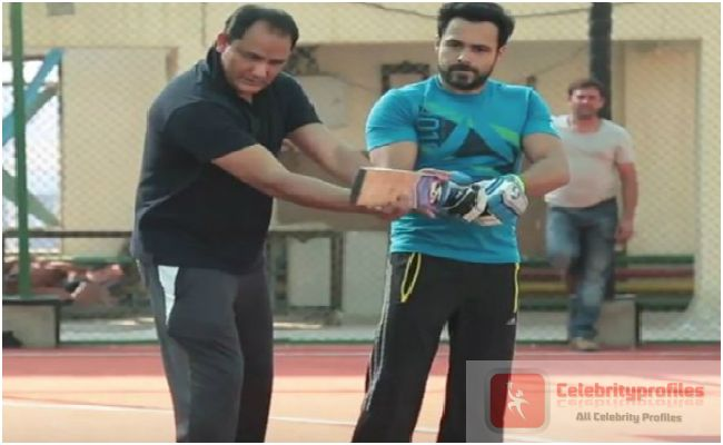Mohammad Azharuddin trains Emraan Hashmi in Azhar video