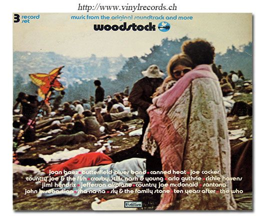 Woodstock Soundtrack Album Cover Front Cover Photo Of
