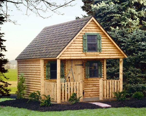 How to Construct Childrens Wooden Playhouses