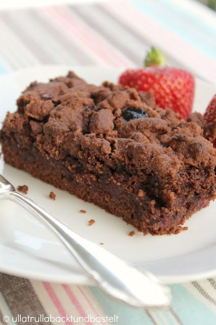 Schokoladen-Streuselkuchen Chocolate - Streusel - Cake
