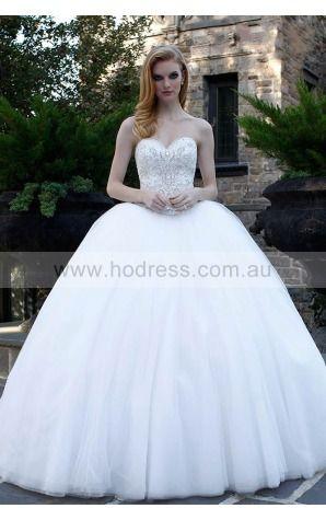 Ball Gown Sweetheart Empire Sleeveless Floor-length Evening Dresses zbh113--Hodress