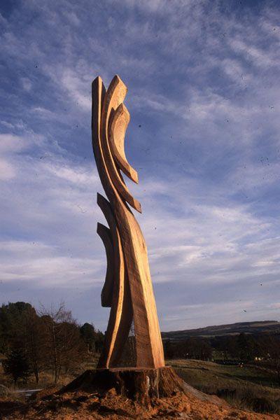 Nigel Ross, Wood Sculpture