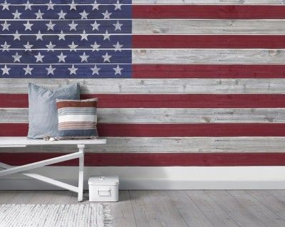 Marstrand 2986 bor stapeter wallpapers a mural of for American flag wall mural