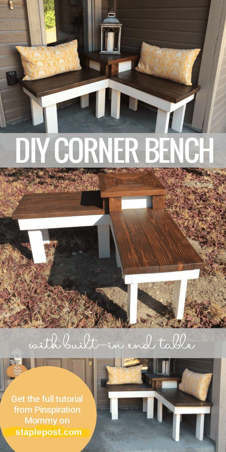 Diy Corner Bench Table
